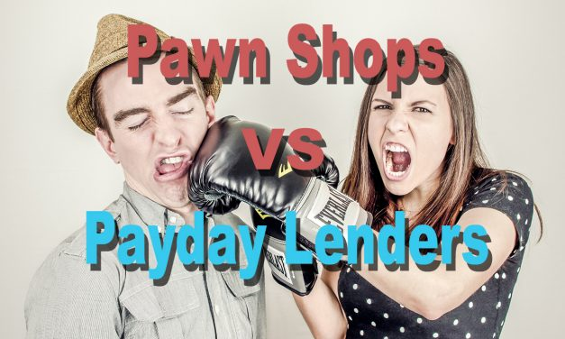 Pawn Shop Prices vs. Payday Lenders, Car Title Loans, and High Interest Credit Cards!